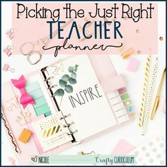 Find ther perfect teacher planner with these helpful tips and suggestions that will be more than just a lesson plan planner. Accommodation For Students, Iep Meetings, Teacher Inspiration, Teacher Planner, Teacher Organization, New Students, Helpful Tips, Lesson Plans, Authors
