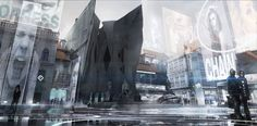 Prague, Deus Ex Mankind Divided |  Prague is one of the many locations around the world you'll visit in Mankind Divided. II