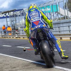 Valentino Rossi at 2016 MotoGP preseason testing - Phillip Island. Photo by RedGhost