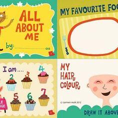 Carmen Mok - All about Me #childrensbook #illustration #carmenmok