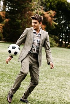 Zac and soccer
