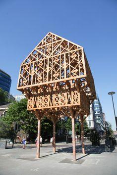 Paleys sobre Pilares / Studio Weave (London, UK) #architecture