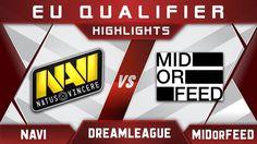 NaVi vs MidOrFeed DreamLeague Major 2017 EU Highlights Dota 2