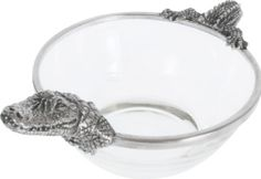 Unique alligator bowl! Find at, The Prince's Table!