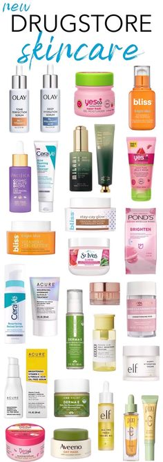 27 New Drugstore Skincare Faves To Fall For! <br> From glow-inducing face creams to problem-solving serums and masks, here are the most exciting new drugstore skincare products coming your way in Best Drugstore Face Moisturizer, Aloe Vera Face Moisturizer, Homemade Facial Moisturizer, Moisturizer For Oily Skin, Drugstore Skincare, Tinted Moisturizer, Natural Moisturizer, Clinique Moisturizer, Oily Skin Care