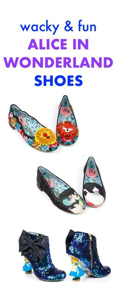 Wacky & Fun Alice in Wonderland Shoes