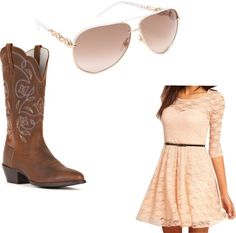"""""""country dress up"""" by amanda-sopher on Polyvore"""