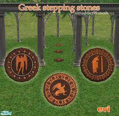 Step into the Mystery World of Ancient Greece...  Found in TSR Category 'Sims 2 Sets'