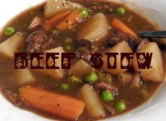 First Day of Fall Beef Stew