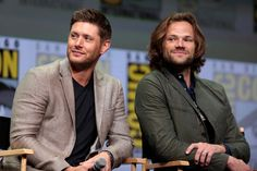 Supernatural Panel Jensen Ackles and Jared Padalecki - Comic Con International 2017 WBSDCC SDCC  ♡