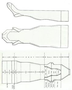Retro lingerie guru Mark Garbarczyk shows you how to make your own custom fully-fashioned vintage-style stockings with French or Cuban heels. Vintage Sewing Patterns, Clothing Patterns, Shirt Patterns, Pattern Drafting, Pattern Sewing, Pants Pattern, Diy Stockings, Fully Fashioned Stockings, Landsknecht