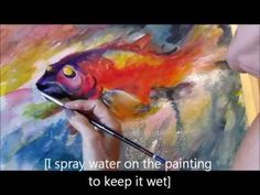 Abstract Watercolor Demo