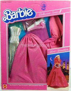 Barbie Silver Sensation Fashion 7438 NRFP Exlt Condition 1983 Mattel Inc 3 | eBay