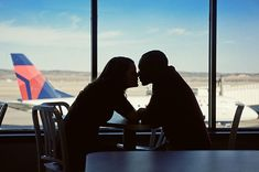 Airport Engagement Session  © cb Yates Photography
