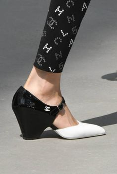 Find tips and tricks, amazing ideas for Chanel resort. Discover and try out new things about Chanel resort site Chanel Resort, Leather Fashion, Fashion Shoes, Women's Shoes Sandals, Shoe Boots, Shoes Sneakers, Dressy Shoes, Chanel Shoes, Chanel Chanel