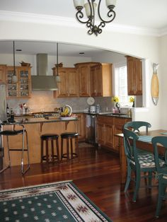 Beautiful #Kitchen - Beautifully appointed w/Brazilian cherry HW on 1st floor, LR w/vaulted ceilings & gas FP, granite kitchen w/island & upgraded SS appliances. This home is located in #Harrisburg #PA and is available for purchase.