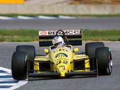 1987 Coloni FC187 - Ford (Nicola Larini)
