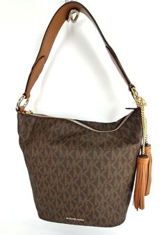 a6d68b5c9c Michael Kors Elana Large East West Converti Brown 30t6ge3l3b   1041 for  sale online