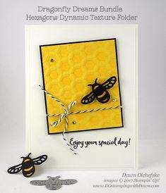 DOstamperSTARS Thursday Challenge #214: Hexagons Dynamic Texture Folder   DOstamping with Dawn   Bloglovin'