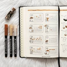 24 September Bullet Journal Layouts & Themes You'll LOVE - - Ideas for your September bullet journal including the best themes, cover page, habit trackers, and more pretty September bujo page ideas. Bullet Journal Spreads, Bullet Journal Cover Ideas, Bullet Journal Monthly Spread, Bullet Journal 2020, Bullet Journal Themes, Bullet Journal Inspo, Bullet Journal Layout, Journal Pages, Bullet Journals