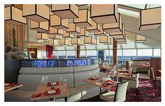 Cygnus 27- The top floor of the Amway Grand Plaza Hotel sits Cygnus 24 with beautiful views of the Grand Rapids skyline.  They serve globally influenced American Cuisine.