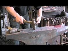 Making a small set of Farrier / Blacksmith tongs. - YouTube