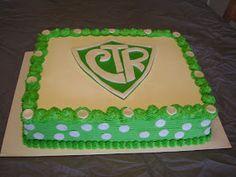 Sew Sweet Creations: CTR Baptism cake