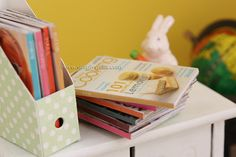 Simplystella's Sketchbook: 1:6 Magazines - First Printable + Tutorial good also for 1:12 dollhouse
