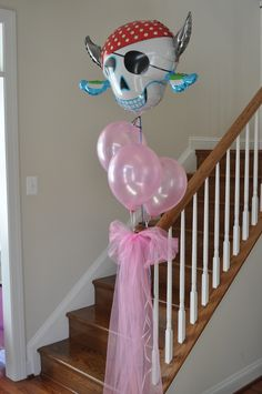 Princess / Pirate Party. Trying to add a little pirate to my daughter's princess birthday.