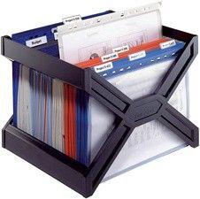 Durable Carry Plus Hängebox schwarz - Böttcher AG Spa Intex, Shops, Sissi, Magazine Rack, Storage, Crafts, Administration, Decor, Aide