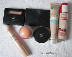 Beauty box: In my makeup box: September Makeup Box, Makeup Tips, Beauty Box, Red Lipsticks, Nail Care, Makeup Looks, September, Blush, How To Make