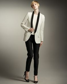 http://ncrni.com/stella-mccartney-contrastlapel-tuxedo-jacket-highlow-shell-narrow-cuffed-pants-p-10272.html