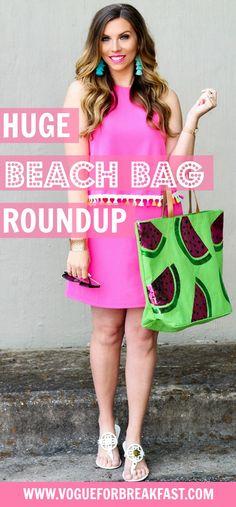 f0e35ec22025 Huge Beach Bag Roundup - Vogue for Breakfast