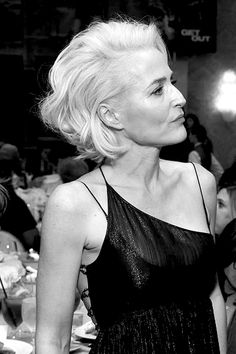 Gillian Anderson attends the 18th Annual AFI Awards - January 5th, 2018.