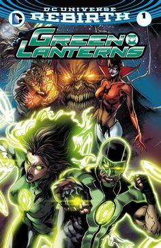 Green Lanterns (2016) #1 #DC @dccomics #GreenLanterns #Rebirth (Cover Artist: Joe Prado & Robson Rocha) Release Date: 6/15/2016