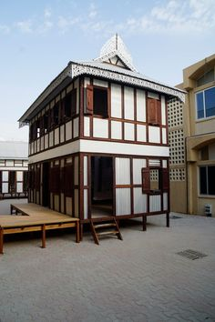 Marina Tabassum brings prefabricated Bangladeshi homes to Sharjah Compact House, Micro House, Sea Level Rise, Prefabricated Houses, British Colonial, Sharjah, Small House Design, House Made, Small Apartments
