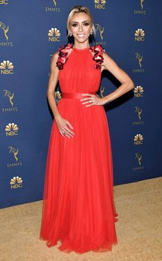 0f3a7c59f1 Giuliana Rancic from 2018 Emmys Red Carpet Fashion