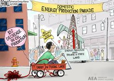 Federal land oil production has decreased 10% due to Obama policies, while oil production has increased 89% on private and state land. Obama tries to take credit. Cartoon by A.F.Branco ©2015. Read more at http://comicallyincorrect.com/2015/04/17/federal-land-oil-production/#60LRmvbtSmhU4yAD.99