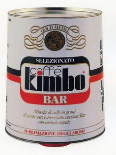 1974 Al Bar #packaging #kimbo #coffee https://www.facebook.com/kimbobellebbuono