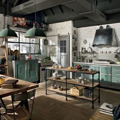 Marchi Group launches 1956, Loft kitchens
