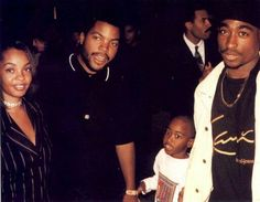 Tupac Shakur and Ice Cube