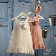 Βαπτιστικό Φόρεμα Veronica | Angel Wings 064 Girls Dresses, Flower Girl Dresses, Veronica, Christening, Girl Outfits, Wings, Angel, Wedding Dresses, Clothes