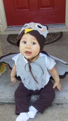 two boys and a mommy DIY baby owl costume  sc 1 st  Pinterest & 29 best One Year Old DIY Halloween Costume Ideas images on Pinterest ...