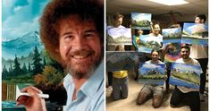 29 Best Bob Ross Birthday Party images in 2017 | Bob ross