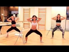 Barre Fitness   Abs Workout   Standing Core Work - YouTube