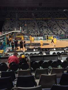Tigers warming up