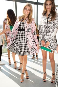 Diane von Furstenberg Spring 2015 Ready-to-Wear Fashion Show Beauty