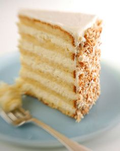 This delicious coconut cake recipe is courtesy of Robert Carter from the Peninsula Grill, in Charleston, South Carolina.