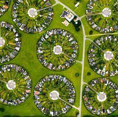 Bronby Garden City, Copenhagen, Denmark