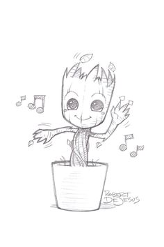 Who doesn't LOVE Groot?